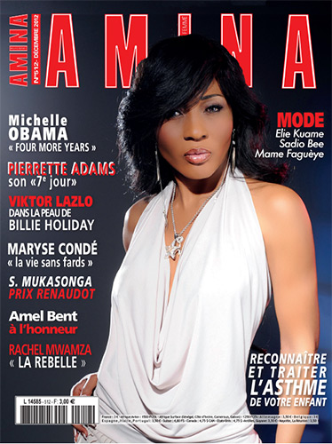 Pierrette adams presse for Eminza magasin
